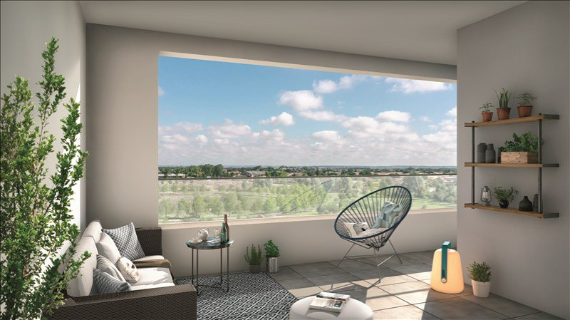 appartement t3 de 64 m blagnac. Black Bedroom Furniture Sets. Home Design Ideas