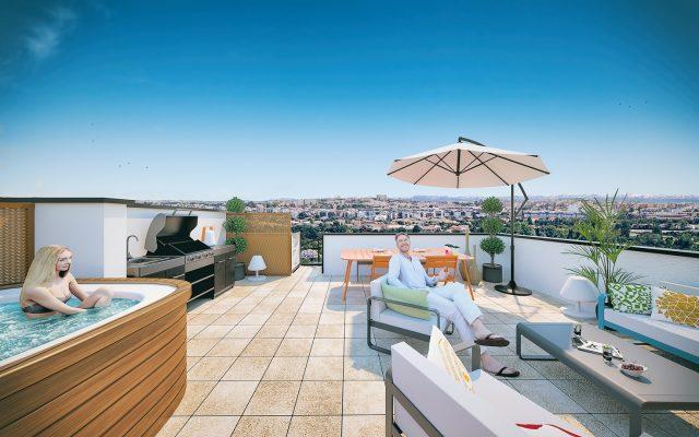 Appartement T4 de 88.81 m² à Toulouse