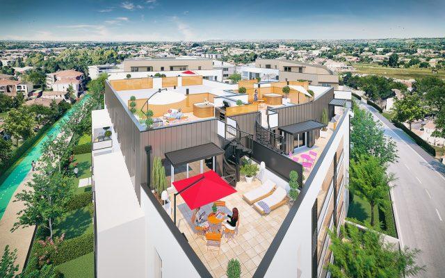 Appartement T4 de 90.07 m² à Toulouse
