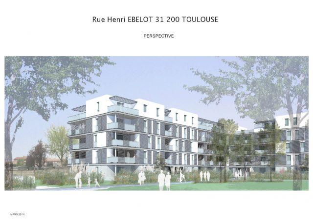 Appartement T3 de 64.5 m² à Toulouse