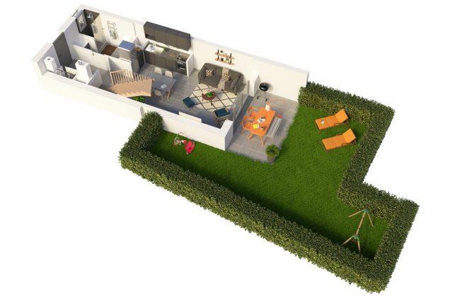 Appartement T3 de 63.7 m² à Toulouse