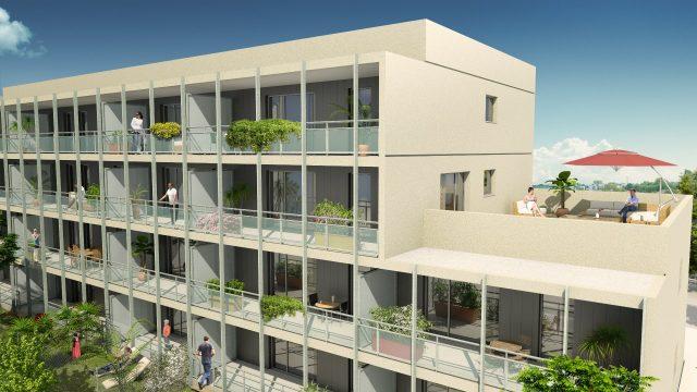 Appartement T2 de 46.04 m² à Toulouse