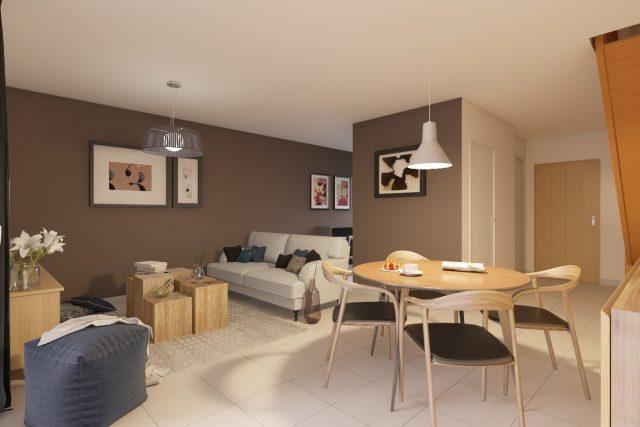 Appartement T3 de 61 m² à Toulouse