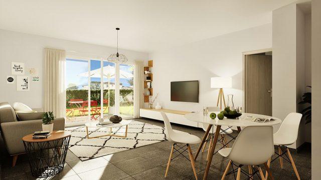 Appartement T3 de 62.16 m² à Toulouse