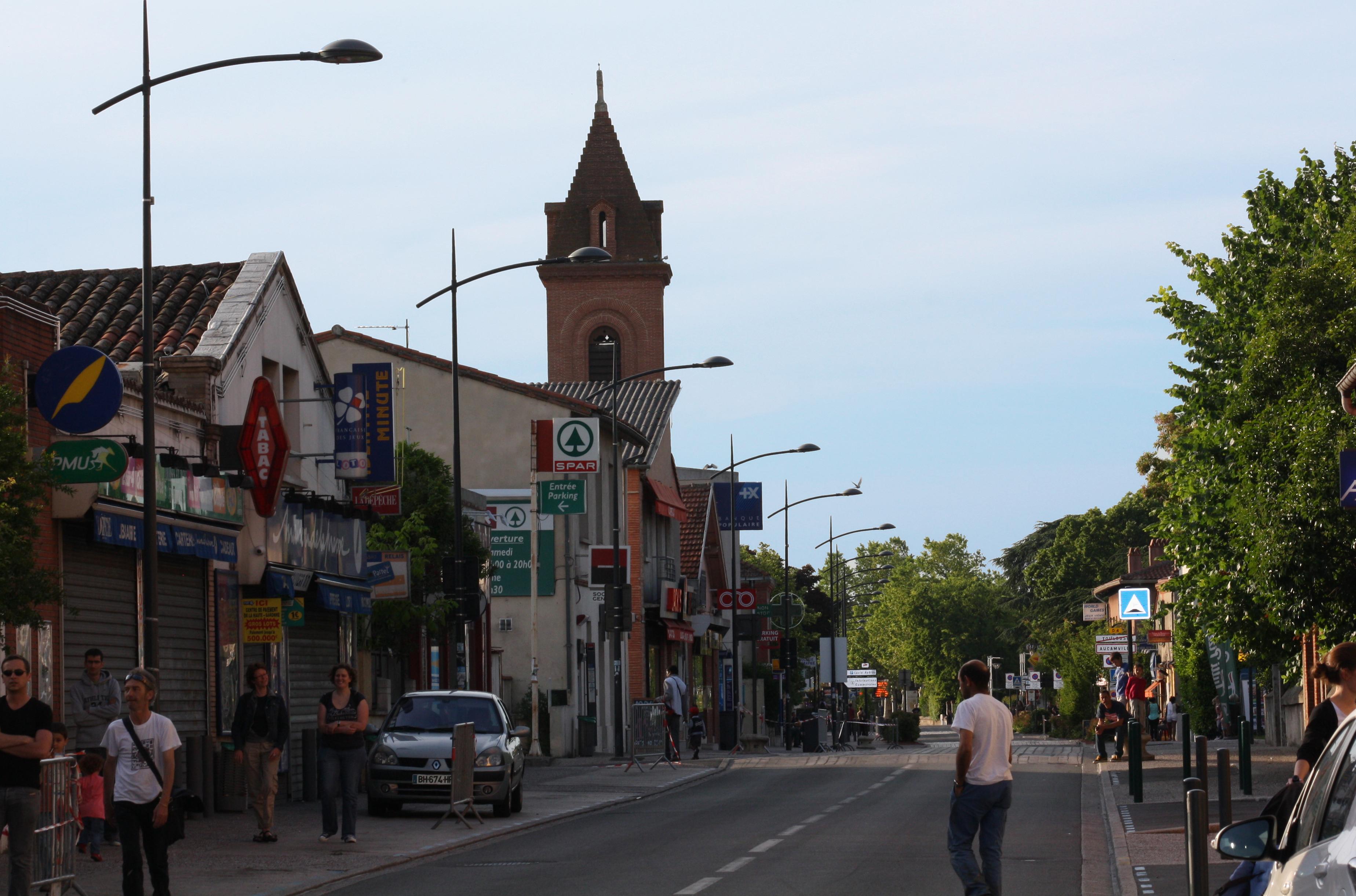 Centre ville aucamville